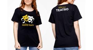 CAMISETA M/C TEATRO TAM. 12